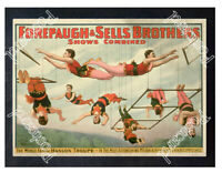 Historic Forepaugh & Sells Brothers Circus Advertising Postcard