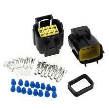 1 Set 8 polig Stecker Steckverbinder Wasserdicht für Auto KFZ Motorrad