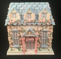 Pfaltzgraff The Tea House Napkin Holder Tea Rose Collection