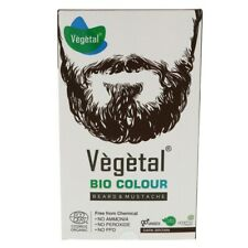 Vegetal Bio Color Beard & Mustache Dark Brown Free From Chemical 100g