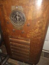 Antique Grunow 835 Console Radio 1930s Floor Model In Wooden Case 1936 Working