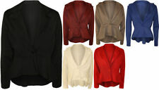 Polyester Long Sleeve Solid Plus Size Tops & Blouses for Women