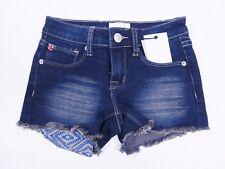 New Hudson Kids Blue Blood Jean Shorts Size 7 $39