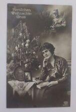 """"""" Natale, Donna, Mode, Albero di Natale, Libro """" 1908"""