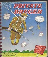 Private Breger his adventures in an army camp by Dave Breger Rand Mcnally 1942