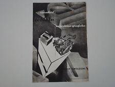 advertising Pubblicità 1948 MACCHINE GRAFICHE NEBIOLO