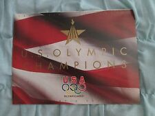 1996 Upper Deck U.S. Olympic Champions Ad Brochure w/Dan O'Brien Poster 27x48