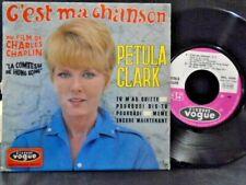 """PETULA CLARK  FRENCH E.P """" C`EST MA CHANSON """" EX COND.IN EX PIC SL"""
