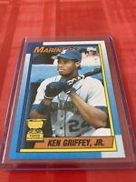 1990 Topps Ken Griffey Jr. Star ROOKIE RC #336 Baseball Card K48 Mariners