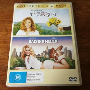 Under the Tuscan Sun/ Raising Helen DVD R4 VERY GOOD - FREE POST