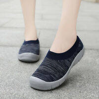 Womens Ladies Mesh Sneaker Running Walking Sports Trainers Gym Shoes Size 5-11