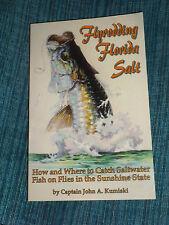 Flyrodding Florida Salt by Capt. John A. Kumiski Paperback Book ~ Fishing ~ Mint