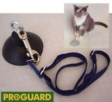 SMALL DOG or CAT Grooming HOLD EM BATH TUB RESTAINT Tether Harness&Suction Cup