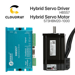 Cloudray Leadshine HBS57+573HBM20-1000 Nema23 3 Phase Hybrid Servo Closed Loop