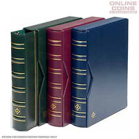 Lighthouse - Classic Vario Banknote and Stamp Album With Slipcase - Blue