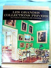 LES GRANDES COLLECTIONS PRIVÉES - DOUGLAS COOPER - ÉDITIONS PONT-ROYAL 1963 TBE*