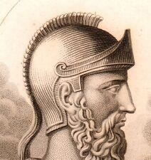 Portrait Thémistocle Grèce Greece Guerre Médique Halicarnasse