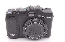 Canon Powershot G15 12.1mp Fotocamera digitale - Nero