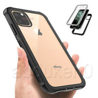 360 Full Shockproof Case Rugged Armor Clear Cover For iPhone 12 Pro 11 SE 7 8 XR