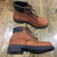Red Wings Boots Size 7 D 48051 Made in the U.S.A. Leather Upper (NO BOX)