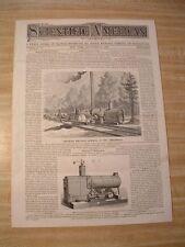 SA-11/18 1876-Centennial Exposition Curiosities-Canadian Portable Sawmill-Vulcan