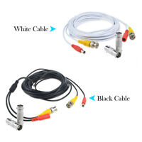 All-in-One BNC Video Power Cable Wire for CCTV Security Camera+Female Connector