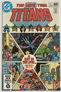New Teen Titans No. 8 (DC, 1981) VF- A Day In the Life Wolfman, Perez