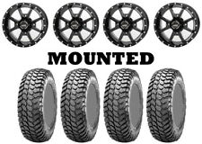 Kit 4 Maxxis Liberty Tires 28x10-14 on Frontline 556 Black Wheels Ter(Fits: More than one vehicle)