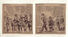 Out Our Way by J.R. Williams - 25 large daily comic panels from July 1940
