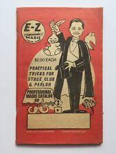 1989 Ez Magic Professional Magic Catalog # 3