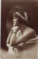 Ragazza con Cappello Moda Glamour Girl Hat Fashion Real Photo PC Circa 1910 14
