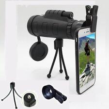 Day & Night Vision 40x60 HD Optical Monocular Hunting Camping Hiking Telescope