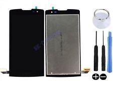 ECRAN LCD + VITRE TACTILE BLOC COMPLET ASSEMBLE POUR LG LEON H340N NOIR 4G LTE