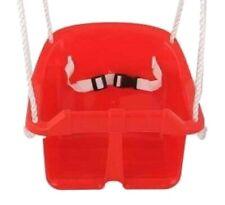 Playfun siège balançoire bébé rouge 35 x 31 cm