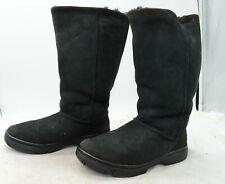"""UGG Australia """"Ultimate Tall II"""" Sheepskin Suede Winter Women's Sz 8 Boots"""