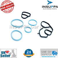 OIL COOLER GASKET O-RING SET FOR CITROEN PEUGEOT 1.4 1.6 HDI 1104.36 1103.S0