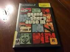 Grand Theft Auto III (3) For Playstation 2 System PS2 Includes Case & Manual