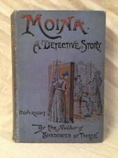 Lawrence L Lynch - Moina, A Detective Story - 1st/1st 1891 - Female Sleuth