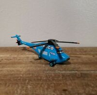 Disney Pixar Cars World Of Cars Dinoco  Helicopter Rare!