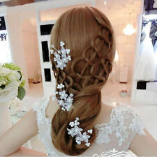 NEW Women's Bride Flower Hair Pin Wedding Party Jewelry Accessory Lovely Pearl