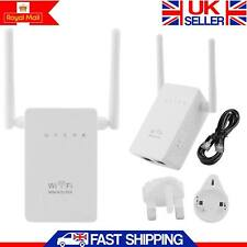 Super Hi-Speed 300 Mbps Wireless Wifi Repetidor 802.11AP Range Router Booster UK
