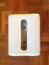 Vintage Ceramic Bathroom Toilet Paper Tissue Dispenser Wall Hung White