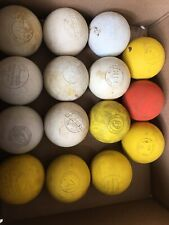 Lot of 15 Used Lacrosse Balls - Various Brands