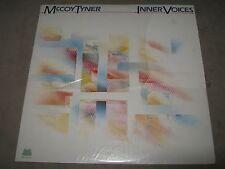 McCOY TYNER Inner Voices RARE 80% SEALED New Vinyl LP Jack DeJohnette Earl Klugh