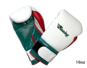 Winning Boxing tri color limited Glove practice professional type 16oz MS600B