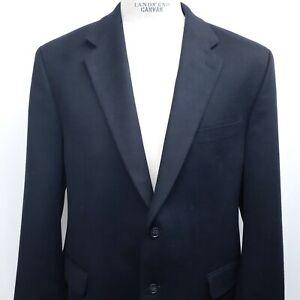 Joseph & Lyman Men's Navy Blue 46R 100% Cashmere Blazer Sport Jacket Coat