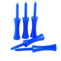 100pcs 68mm Plastic Golf Tees Step Down Golf Pins Professional Golf Nails Blue