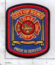 Nevada - Reno NV Fire Dept Patch - Pride In Service