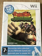 DONKEY KONG JUNGLE BEAT NEW PLAY CONTROLS NINTENDO WII WIIU FRANÇAIS COMPLET