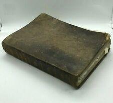 MISSALE ROMANUM 1846 EN LATIN PAGE DE GARDE LJM CARD. DE BONALD